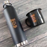 Caged Tiger Insulated Flask Bottle